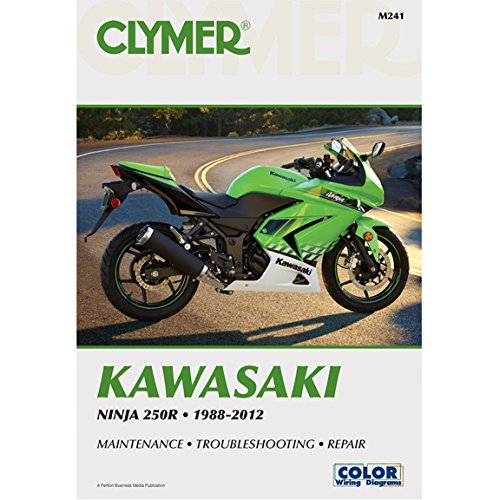 Kawasaki Ninja 250R 1988-2012 (Clymer Motorcycle Repair) (Manual Kawasaki Atv Repair)