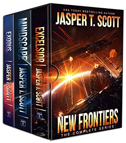 New Frontiers: The Complete Series (Books 1-3) by [Scott, Jasper T.]