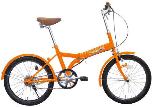 ミムゴ 20インチ折畳み自転車 トロピカルファイブ B0018P6DIO オレンジ オレンジ