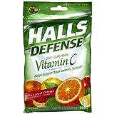 Halls Defense Drops Assorted Citrus 30-Count (並行輸入品)