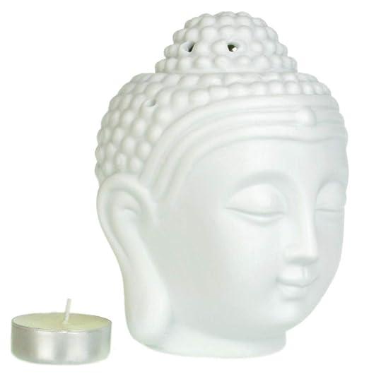Lámpara aromática cabeza de Buda Grande