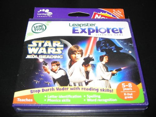 LeapFrog Leapster Explorer Learning Game: Star Wars Jedi Reading by LeapFrog (Image #1)