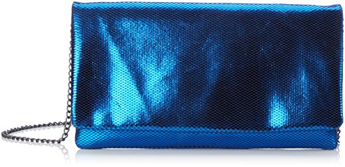 s.Oliver (Bags) 7f.709.94.4478 - Carteras de mano Mujer Azul (Blau Metallic)