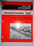 Deutz Allis Coil Tine Attachment for 2300 2500 2600 Disk Harrows 1200 1300 1400 Field Cultivators and 1600 Chisel Plow Operators Owners Manual Original 71509020