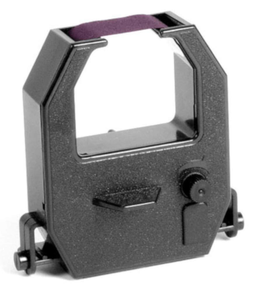 (2 Pack) Amano Pix-55 Pix-200 Tcx-45 Time Clock Ribbon Compatible - Purple Ink
