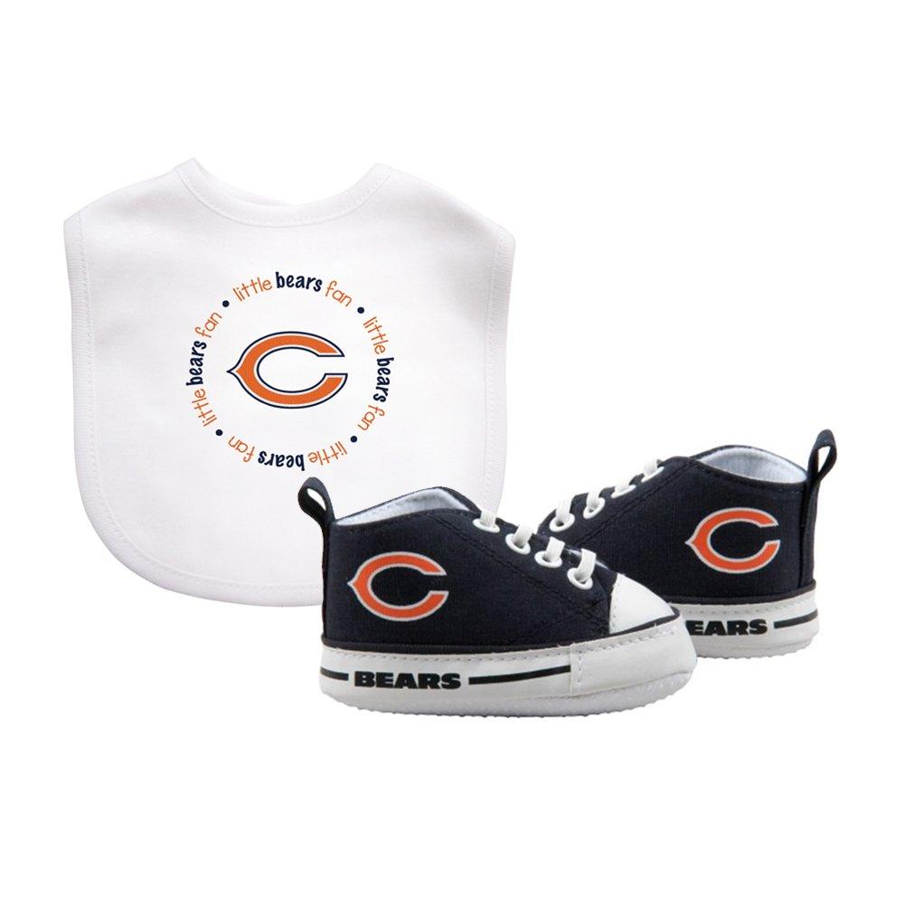 完成品 Chicago Bears NFL幼児よだれかけと靴ギフトセット B010VAF1IO, トウホクマチ:d4fdabce --- movellplanejado.com.br