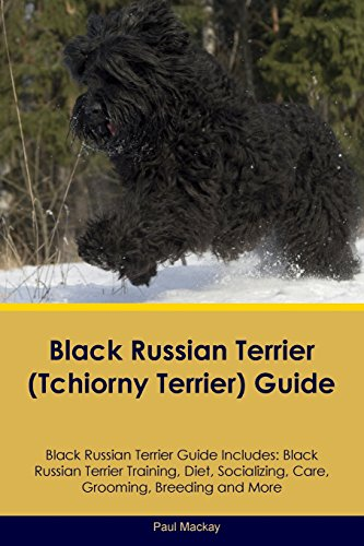 Black Russian Terrier (Tchiorny Terrier) Guide Black Russian Terrier Guide Includes: Black Russian Terrier Training, Diet, Socializing, Care, Grooming, Breeding and -
