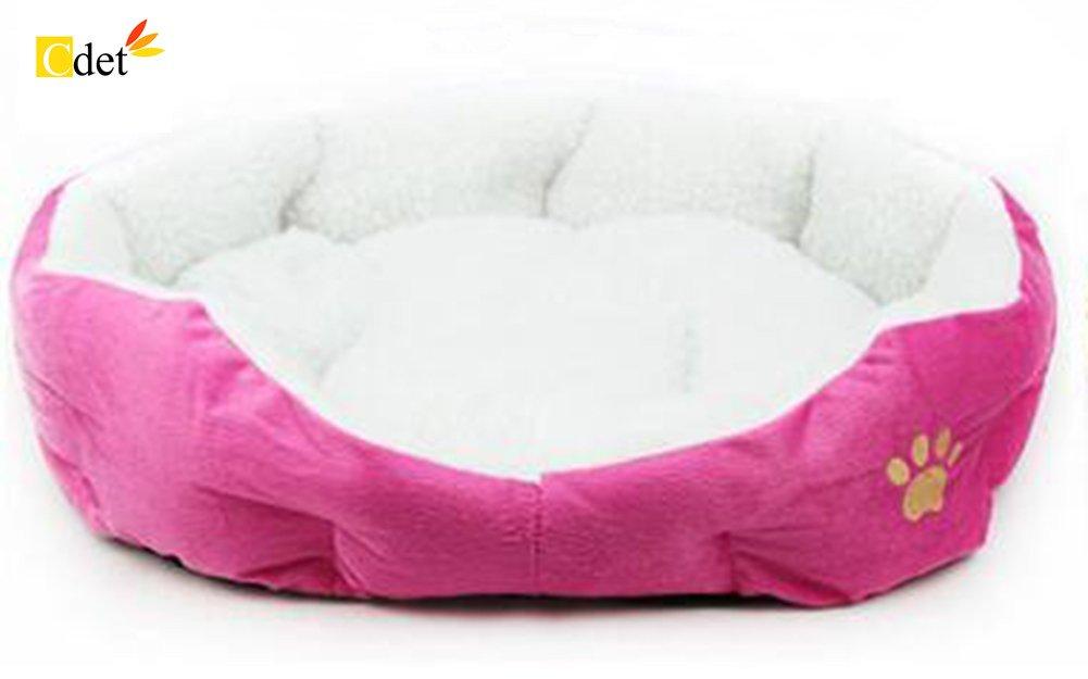 Cama para mascotas redonda o de forma oval