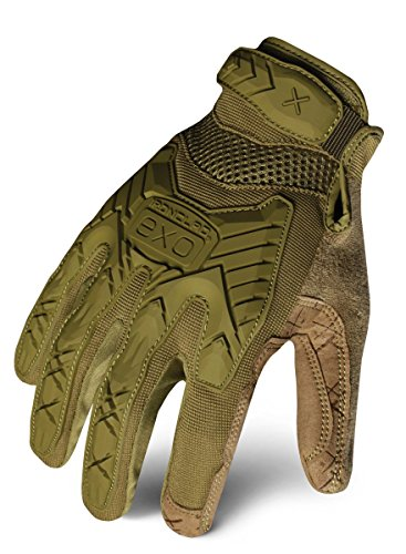 Ironclad EXOT-IODG-04-L Tactical Operator Impact Glove, OD Green, Large (Mechanix Green Glove)