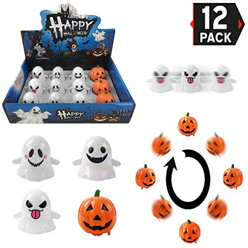 Halloween Goody Bag Wind Up Pumpkins and Ghosts