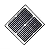 ALEKO 15W 15-Watt Monocrystalline Solar Panel