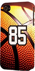 Basketball Sports Fan Player Number 85 Plastic Snap On Decorative iphone 6 4.7 Case