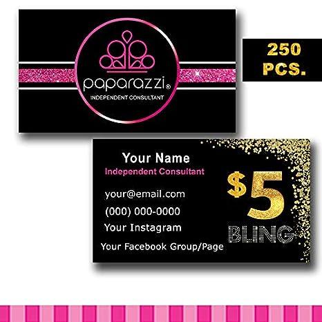 60dfc4fda0dc3 Custom Paparazzi Business Cards 2