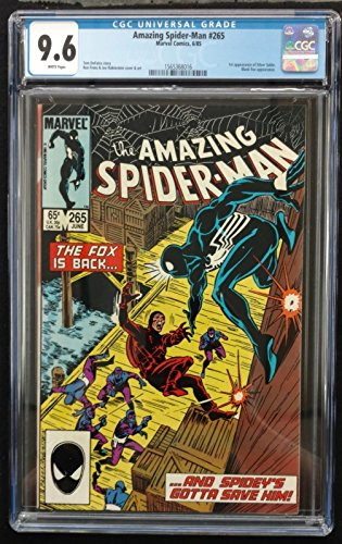 Amazing Spider-man (1963) #265 CGC 9.6 1st Appearance Silver Sable (156368016)