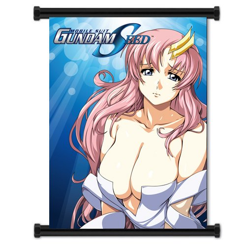 ActRaise Mobile Suit Gundam Seed Sexy Lacus Clyne Anime Fabric Wall Scroll Poster (16x21) Inches [ACT]-Gundam Seed-10