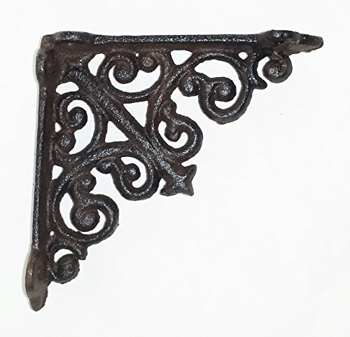 Old Iron Outdoor Bracket - 7