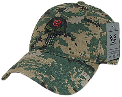 Rapid Dominance A03-PUNISH-MCU Punisher Skull Relaxed Graphic Cap, MCU