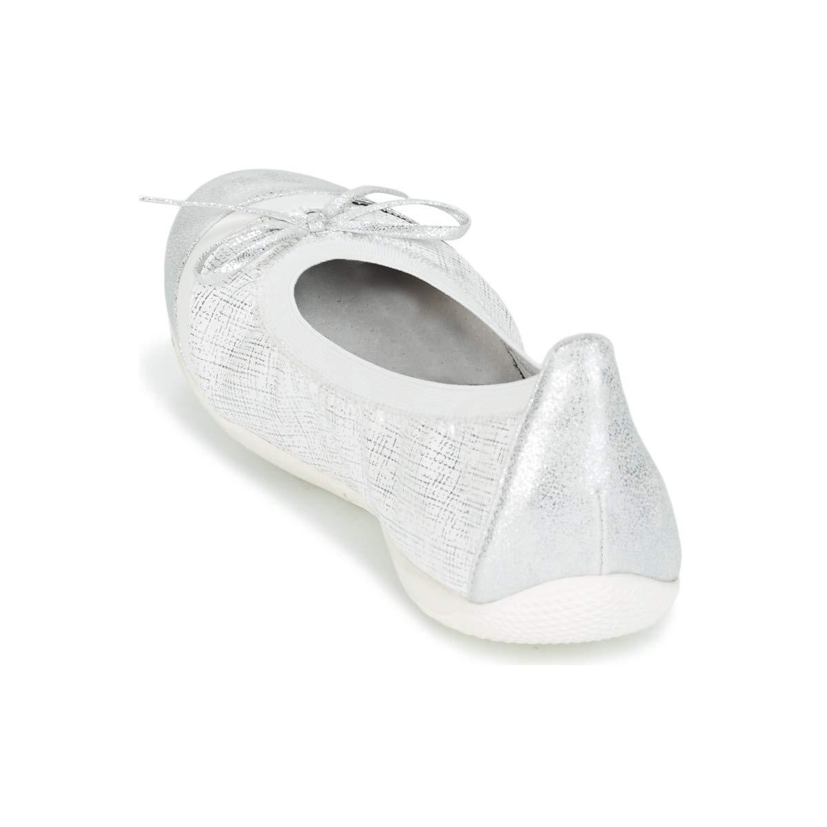 2f767c60a542d LPB Shoes Caprice Ballerines Babies Femmes Blanc Argenté Ballerines Babies   Amazon.fr  Chaussures et Sacs