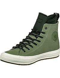 Converse Chuck Taylor All Star II Shield Canvas Sneaker Boot Hi Fatigue Green/Green Onyx/Egret Men's Shoes