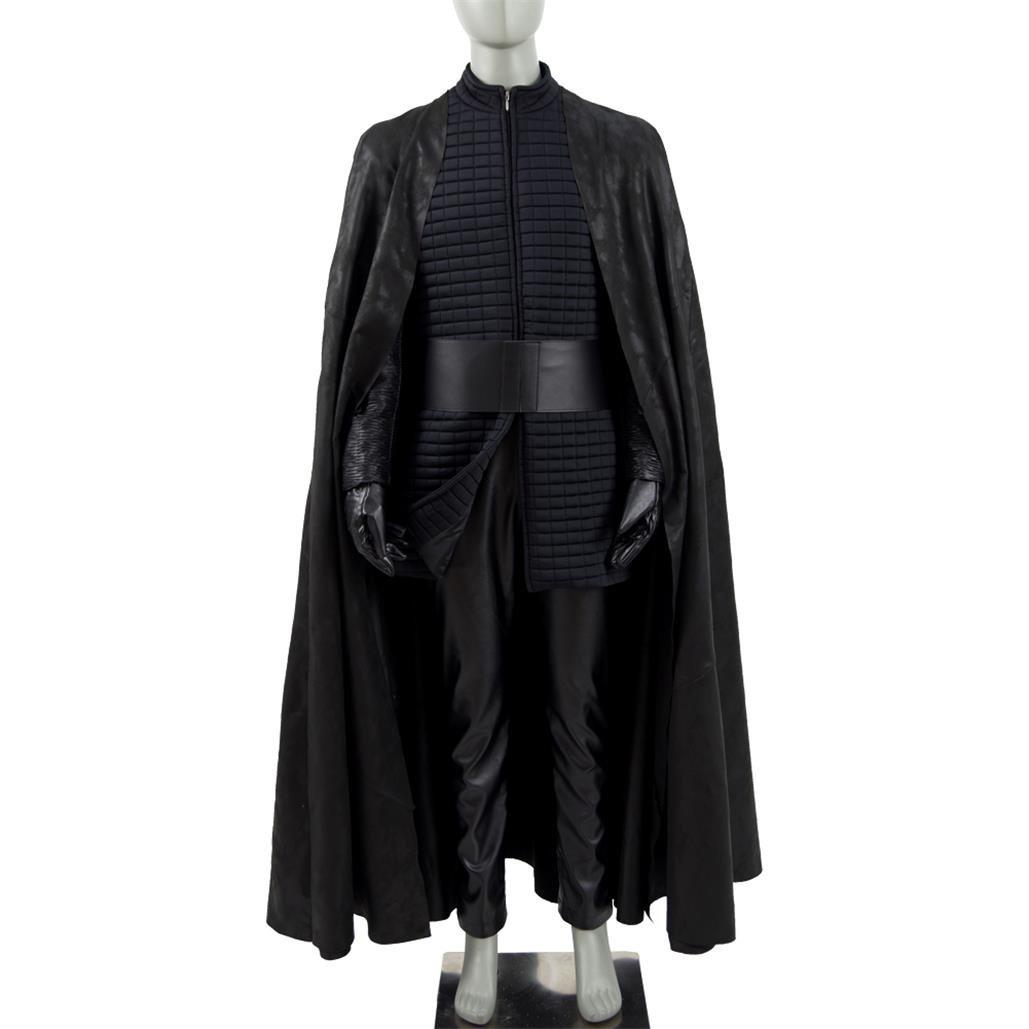 buycostume Men's Costumes Dark Samurai Black for Christmas & Cosplayer Party