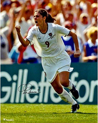 "Mia Hamm Team USA Autographed 16"" x 20"" Celebration Photograph - Fanatics Authentic Certified - Autographed Soccer Photos"