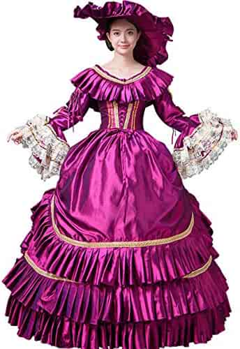 c8b79608aa19 CountryWomen Gothic Marie Antoinette Victorian Ball Gown Renaissance Wench  Gothic Princess Dress Ball Gown