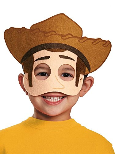 Disguise Costumes Woody Felt Mask, Toddler