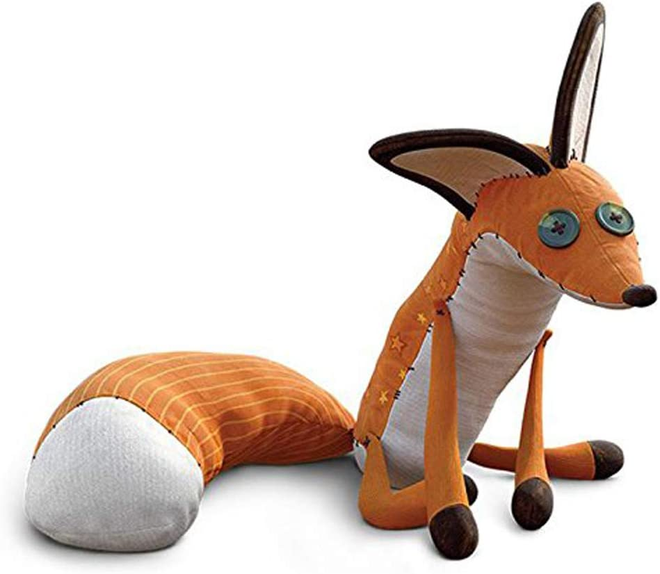 Plush Little Fox Model Doll Car Home Interior Toy Decoration Kid Toy For Party
