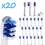 oral b 900 - 20 PC Electric tooth brush Heads Replacement for Braun Oral B Deep Sweep Trizone
