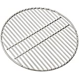 Onlyfire Stainless Steel High Heat Charcoal Fire Grate for X-Large Big Green Egg, 17-inch