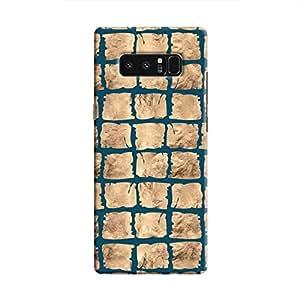 Cover It Up - Rock Dark Blue Break Galaxy Note 8 Hard Case