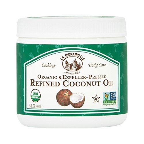 La Tourangelle, Organic Refined Coconut Oil, 15 Fluid Ounce