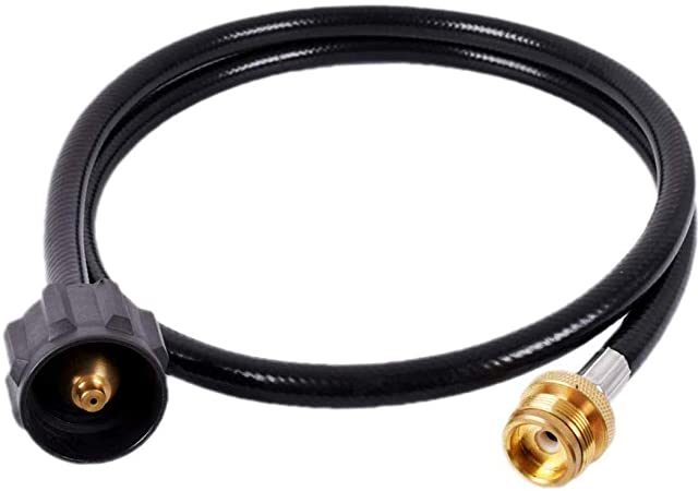 4 Foot Propane Tank Grill Replacement Adapter Hose Gas Extension BBQ for Weber