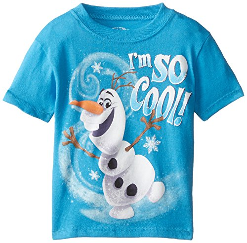 Disney Boys' Frozen Olaf I'M So Cool T-Shirt