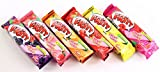 Fritt Fruit Chews 6-Flavor Assortment Candy with Vitamin C 2.5-ounce (70g) (Pack of 6)