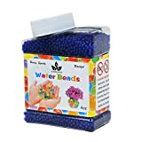 AINOLWAY High Elastic Water Beads Gel Pearls Jelly Crystal Soil for Kids Sensory toys or Vase Fillers 4oz Almost 15,000 Pcs (BLUE)