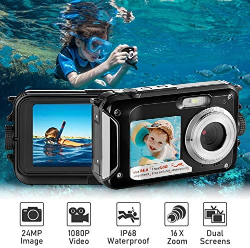 Waterproof Underwater Recorder Camcorder Snorkeling product image