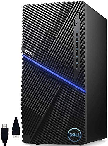 Dell G5 5090 Premium 2020 ゲーミングデスクトップコンピュータ I 第10世代 Intel Octa-Core i7-10700F (>i9-9900) I GTX 1660 Ti 6GB GDDR6 VR-Ready I 16GB DDR4 512GB PCIe SSD I USB-C Win 10 Pro + Delca HDMIケーブル