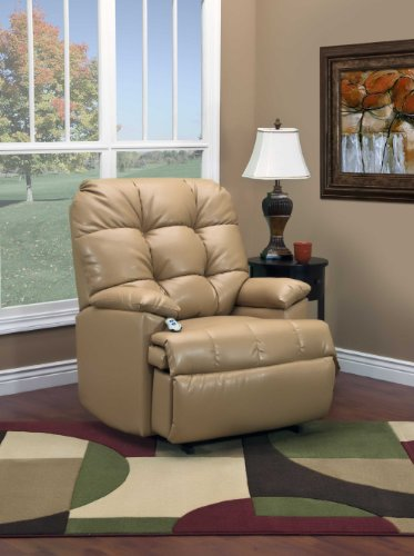 5600 Series Wall-A-Way Reclining Lift Chair Fabric: Bonded Leather II (5600 Series Wall)