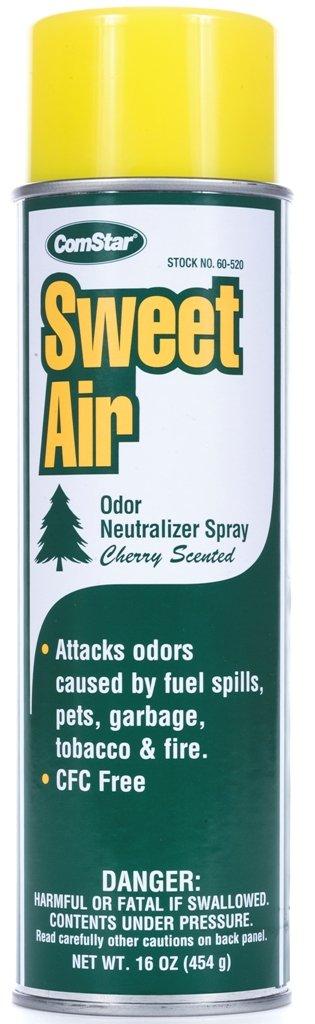 ComStar 60-520 Sweet Air Spray CFC Free Odor Neutralizer, 20 oz. Aerosol , White