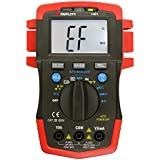 Triplett 1401 True RMS Compact Digital Multimeter with Backlit LCD, 52 Measurement Ranges