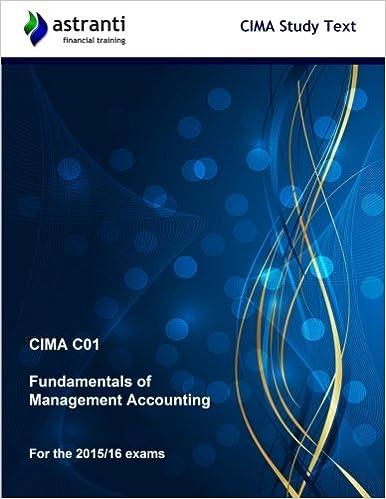 Online cima c01 fundamentals of management accounting (study.