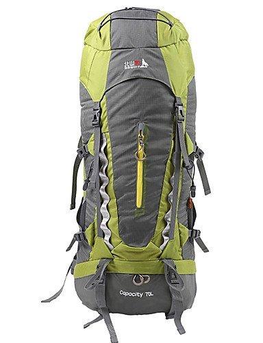 XH@G 70 L Rucksack Camping & Wandern / Klettern / Legere Sport / Reisen OutdoorWasserdicht / Schnell abtrocknend / Regendicht / Staubdicht /