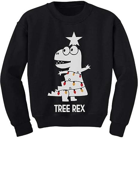 ab49e3d5769ef5 TeeStars - Tree Rex Cute Funny T-Rex Dinosaur Christmas Toddler/Kids  Sweatshirt 2T