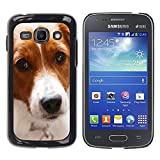 LASTONE PHONE CASE / Slim Protector Hard Shell Cover Case for Samsung Galaxy Ace 3 GT-S7270 GT-S7275 GT-S7272 / Border Collie Dog Pet Canine Cute