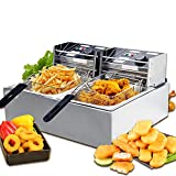 Best Fryers - Nurxiovo 16L Commercial Electric Fryer Double Capacity Countertop Review