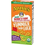 Annie's Organic Bernie's Farm Macaroni & Cheese, 12 Boxes, 6oz (Pack of 12)