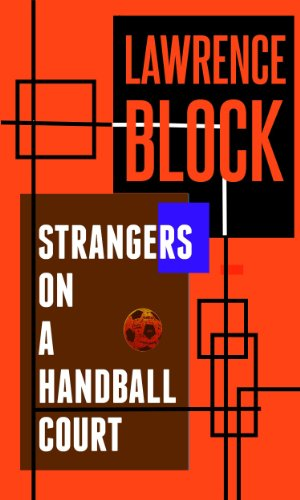 book cover of Strangers on a Handball Court