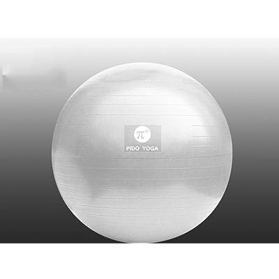 Boule de yoga, épaissir Anti-déflagrant Yoga ball débutant Fitness perdre du poids équilibre Femmes enceintes Ballon d'accouchement ( Couleur : #4 , taille : De 55 cm )