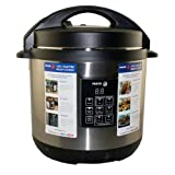 Fagor 670040230 Stainless-Steel 3-in-1 6-Quart Multi-Cooker Pressure Cooker NEW